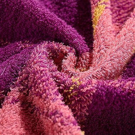Toalla de baño suave Golpee las telas del algodón del enrejado del color Aumentar el engrosamiento ...