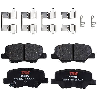 TRW Automotive TPC1679 Black Premium Disc Brake Pad Set: Automotive