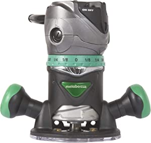 Metabo HPT Router, Fixed Base, 11 Amp Motor, 2-1/4 Peak HP, Variable Speed, M12VC