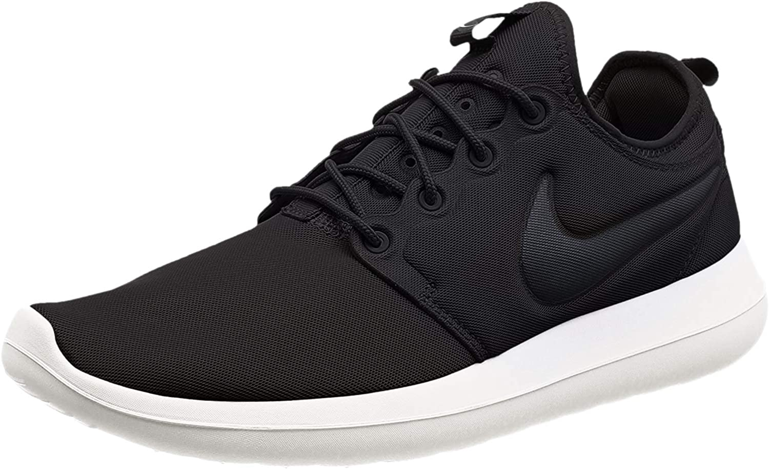 Nike Mens Roshe Two 2 Lifestyle Running Sneakers Black Sail Volt Anthracite 9