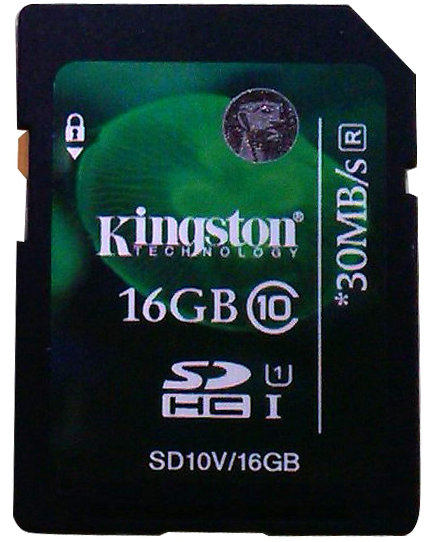 Kingston SD10V/16GB - Tarjeta de Memoria SecureDigital de 16 GB ...