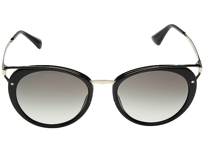 Amazon.com: Prada Wanderer - Gafas de sol para mujer, Negro ...