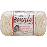 Pepperell 6mm Bonnie Macramé Craft Cord, 100-Yard, Flesh/Cream