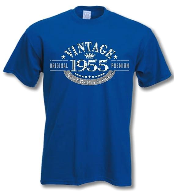 My Generation Gifts 1955 Vintage Year - Aged to Perfection - Regalos Cumpleaños 62 años Camiseta para Hombre