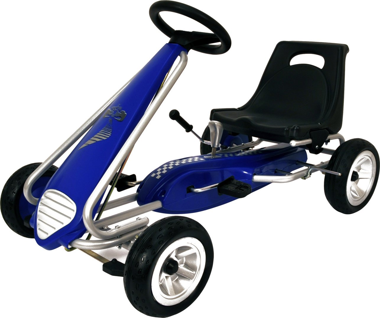 Kiddi-o by Kettler Pole Position Racer Pedal Car/Go Kart, Youth Ages 3+, Pedal  Cars - Amazon Canada