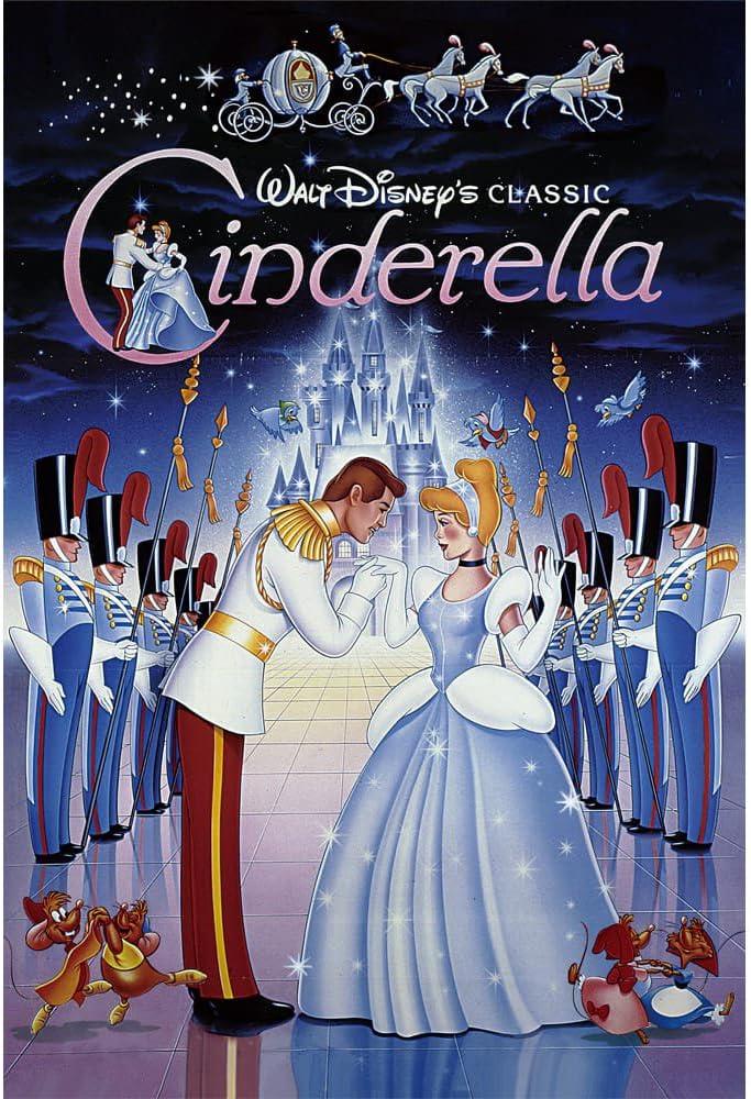 Disney Cinderella 3D Lenticular Greeting Card Disney Amazing 3D Postcard