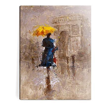 Amazon.com: Canvas Wall Art- Oil Paintings \