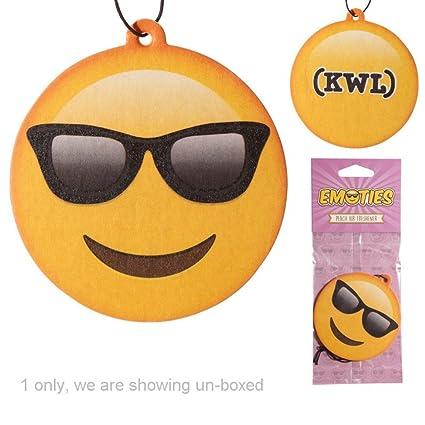 Deodorante per Auto Emoticon Emoji Occhiali da sole PESCA ...