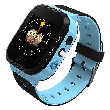 BBPAW Kids Smart Watch, Phone Watch Location Tracker SOS Timer Alarm Clock Camera Pedometer Calculator 1.44