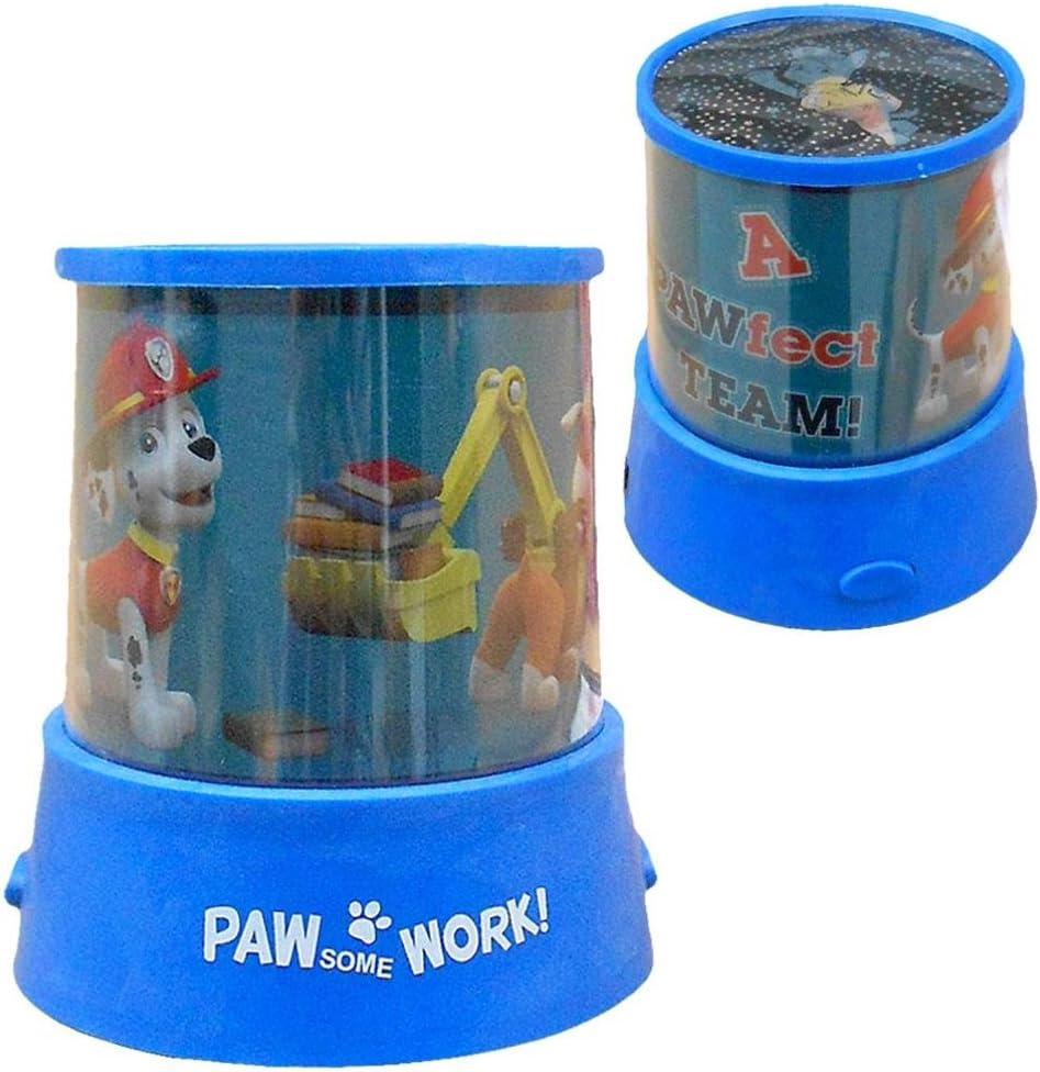 Mini lámpara proyector 12cm de Paw Patrol La Patrulla Canina ...