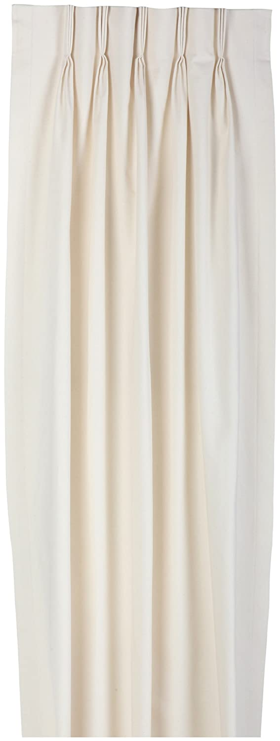 Amazon.com: Fireside Pinch Pleated 48 Inch By 63 Inch Thermal Insulated  Drapes, Natural: Home U0026 Kitchen