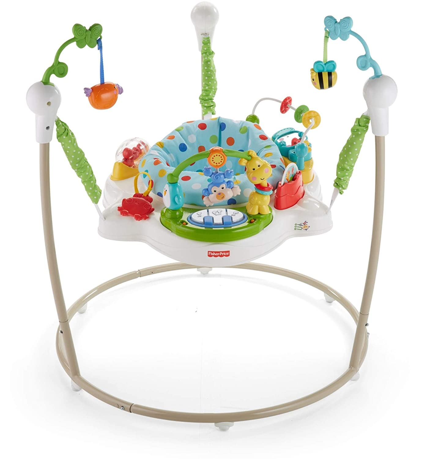 753eb790d3b7 Amazon.com   Fisher-Price Zoo Party Jumperoo   Baby