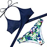 Lever Damen Bikini mit Bügel und Schalen Cups Super Push up Bikini Brasil Serie