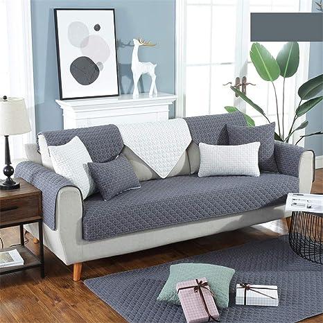 WSWSZ Elegante cojín de sofá Minimalista, Lavado, algodón ...
