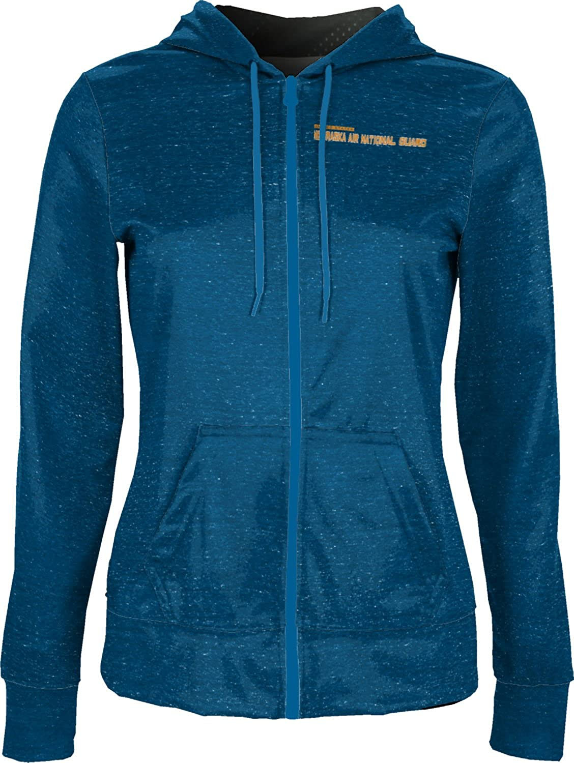 ProSphere Women's Nebraska Air National Guard Military Heather Fullzip Hoodie