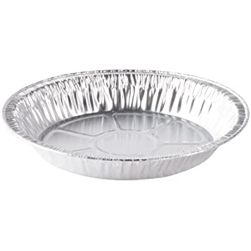 9u0026quot; x 1u0026quot; Medium Depth Aluminum Silver Foil Pie Pan (Pack of 50  sc 1 st  Amazon.com & Amazon.com: 9