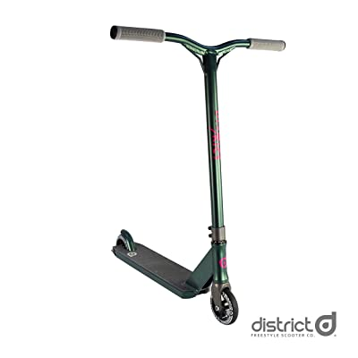 District C50 Complete Pro Stunt Scooter (Litmus): Sports & Outdoors