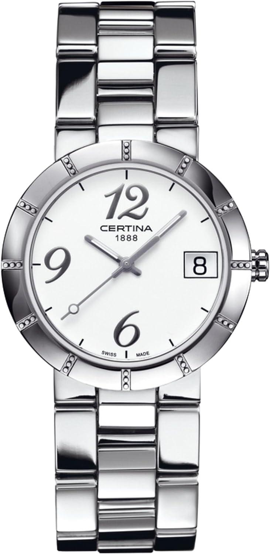 Certina C009.210.11.032.00 - Reloj de Pulsera Mujer, Acero Inoxidable, Color Multicolor