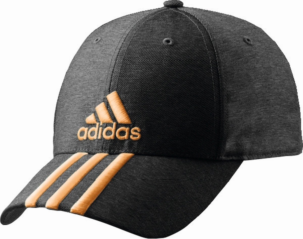 Adidas Perf gorra 3s coh dgreyh/dgreyh/flaora - OSFM: Amazon.es ...