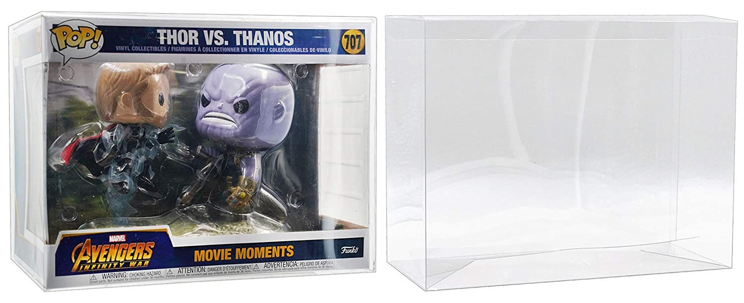 MALKO Movie Moments Pop Protector Case for Vinyl Figures (5 Pack)