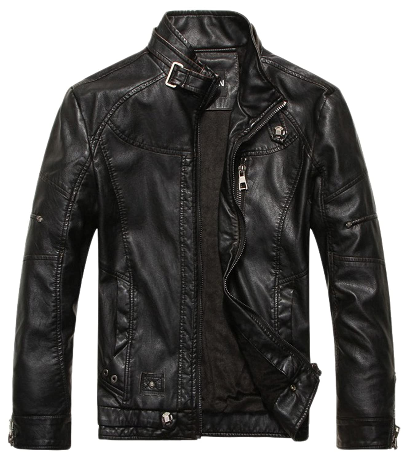 Leather Mens Coats