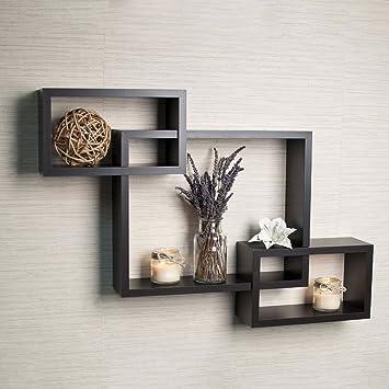 ogori floating shelves wall box shelf cubes shelf boxes wall shelf shelf brackets black