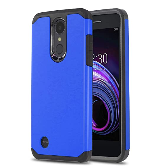 buy popular 39721 3f6e8 Phone Case for [LG Rebel 4 LTE (L212VL, L211BL)], [DuoTEK Series][Blue]  Shockproof Cover [Impact Resistant][Defender] for LG Rebel 4 LTE (Tracfone,  ...