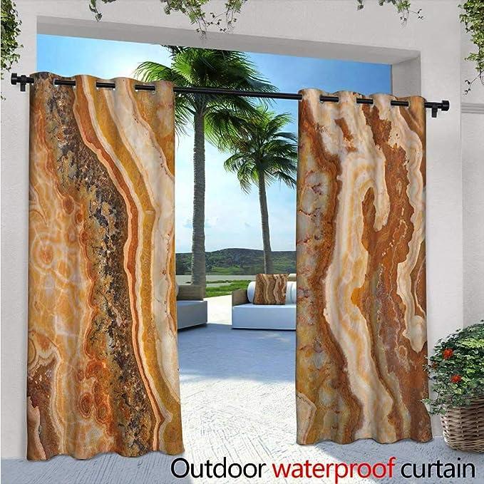 Cortina de privacidad para exteriores de mármol para pérgola de granito, diseño de superficie con efecto de bosquejo natural y grietas, imagen de estilo antiguo, aislante térmico, repelente al agua, cortina para