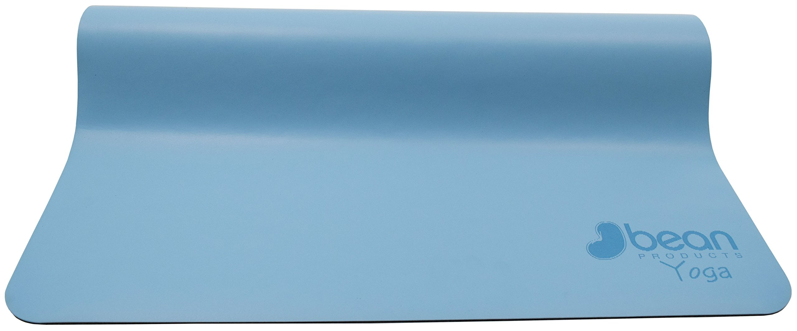 Bean Products Blue Original OMphibian Yoga Mat – The Best Non - Slip (Wet or Dry) Eco-Friendly Natural Rubber Base Yoga Mat from by Bean Products (Image #2)