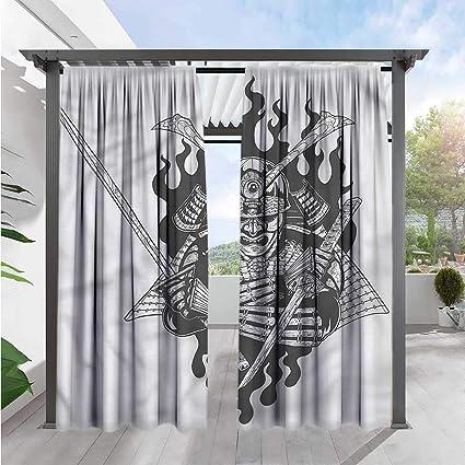 Amazon.com : Marilds Japanese Window Curtains Ghost Ninja ...