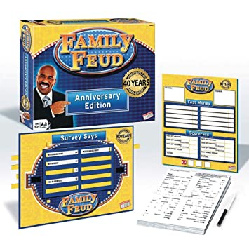 Family Feud Deluxe 40th Anniversary Edition - Board Game by Endless Games  (315)