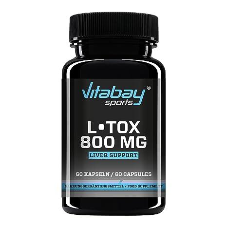 L-TOX - Complejo de altas dosis de nutrientes y plantas - 60 ...