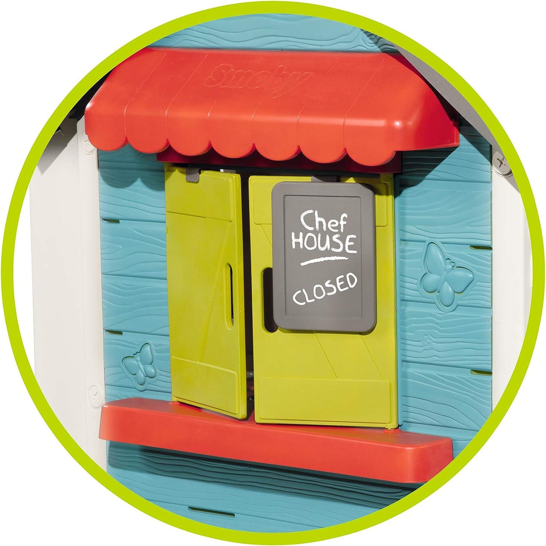 810403 Chef House Maison de Jardin Bleu Smoby