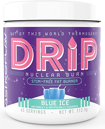 Drip – Caffeine Free Fat Burner – Weight Loss Supplement Metabolism Booster – Stimulant Free Thermogenic – for Men and Women – Fat Burner Powder Fat Burning Pre Workout