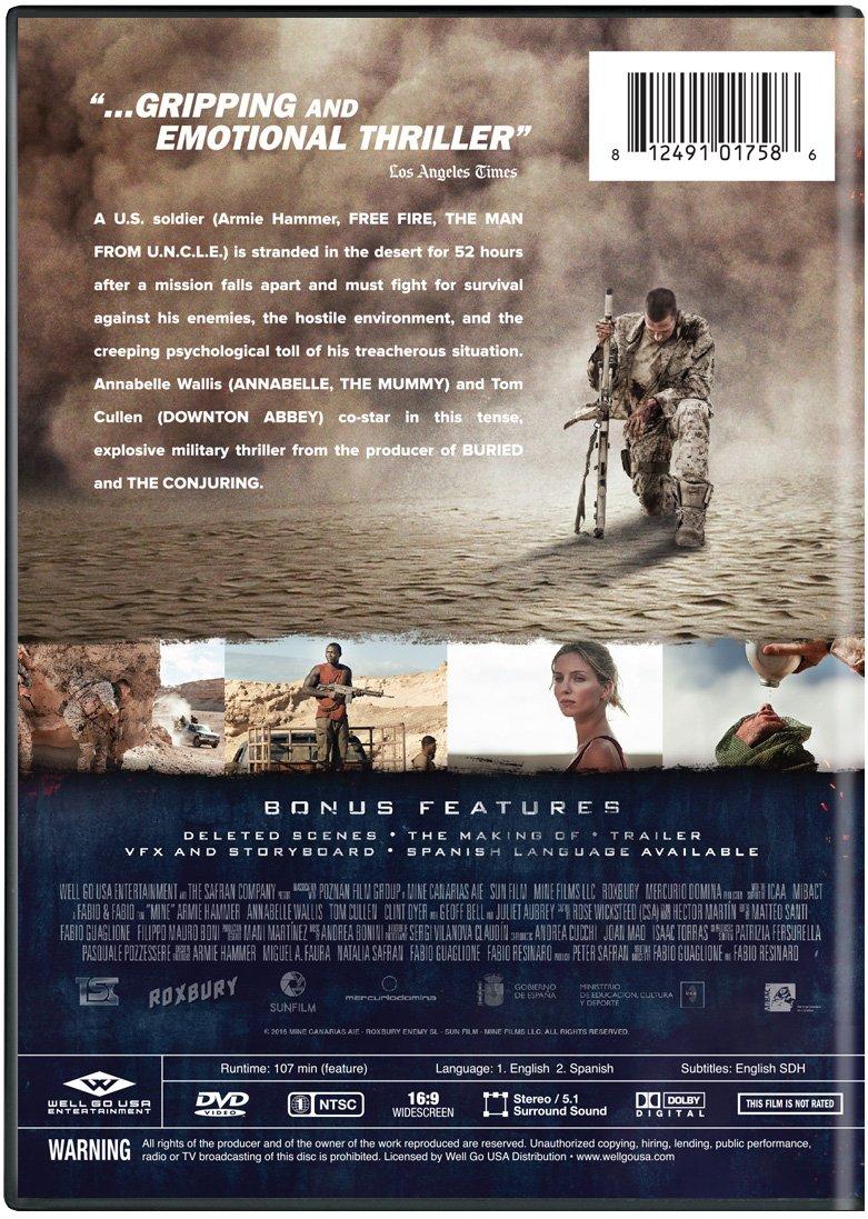 Amazon com: Mine: Armie Hammer, Annabelle Wallis: Movies & TV