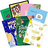 FaceTory Best of Seven Facial Masks Collection - Hydrate, Brighten, Soothe, Revitalize, Nourish, Purify Skin - For All Skin T
