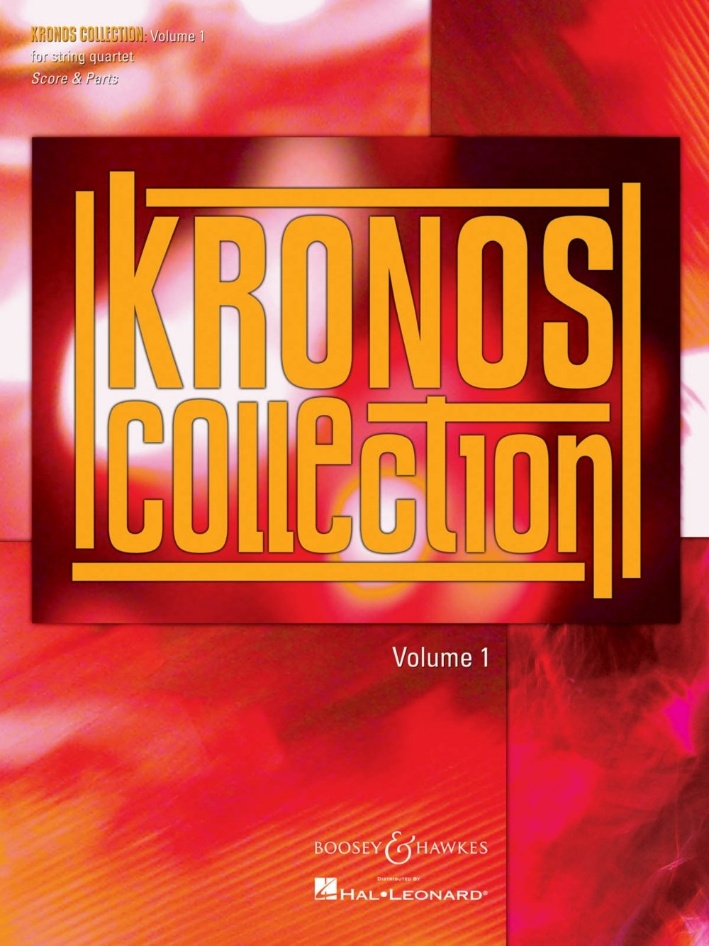 Boosey And Hawkes Kronos Collection  Volume 1 Boosey & Hawkes Chamber  Music Seriesposed By Various: Unknown: 0884088140427: Amazon: Books