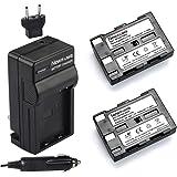 Newmowa NP-400 Battery (2-Pack) and Charger kit for Konica Minolta DiMAGE A1, DiMAGE A2, Dynax 5D, Dynax 7D, Maxxum 5D, Maxxum 7D