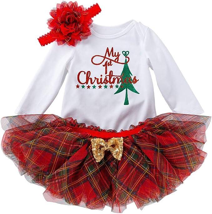 Fasce per Capelli Bambini Principessa Abiti Pizzo Costumi Cosplay Elegante Completo SUDADY Vestito Natale Costume Bambina Abito Elegante Abbigliamento 3 PCS Pagliaccetti Gonna