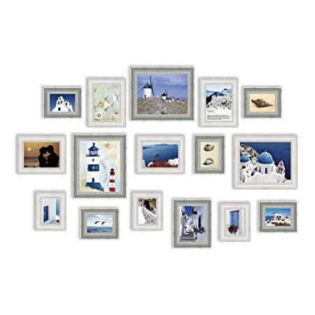 16 Multi Picture Frame Set, Photo Frame, Wall Frame Set with 16 High ...