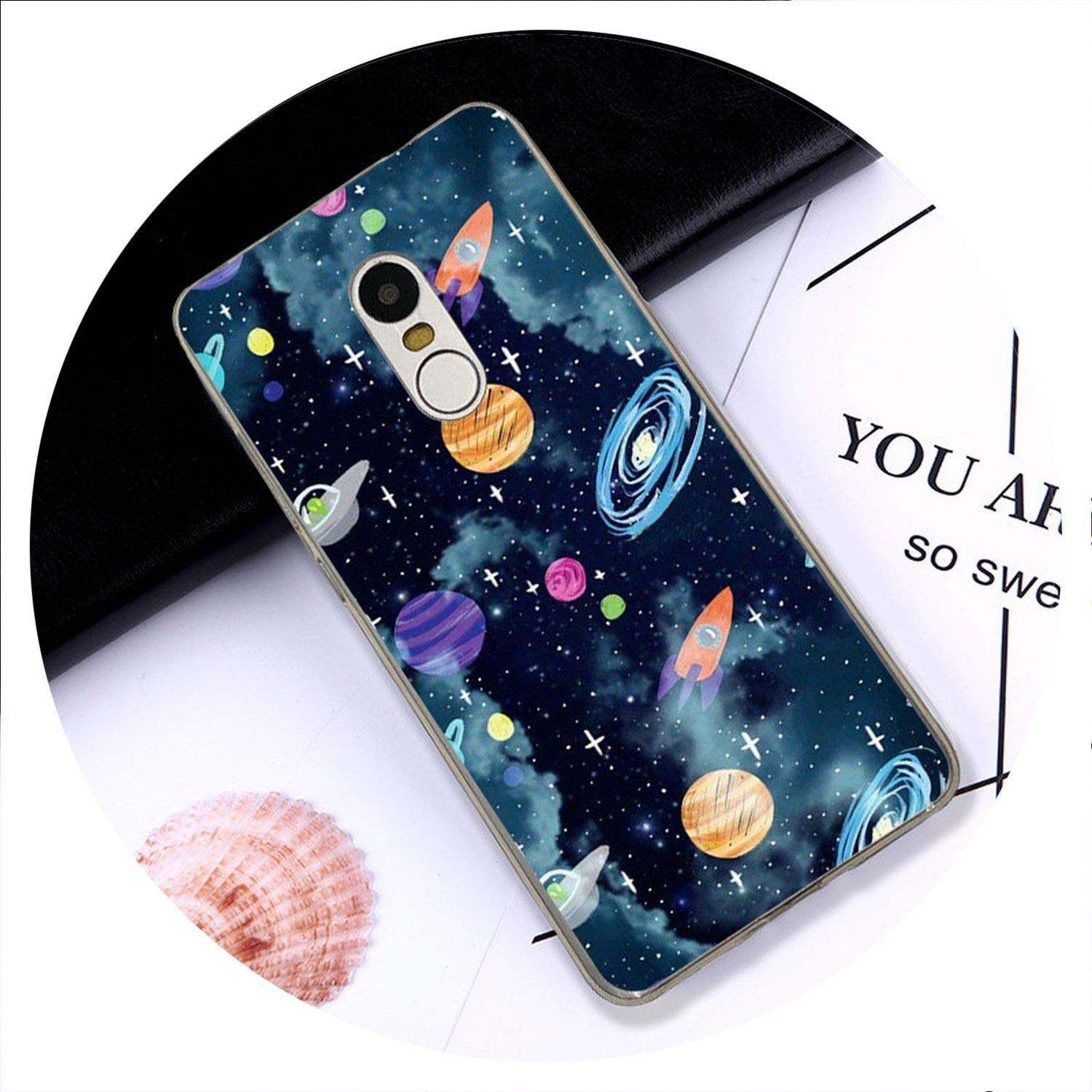 Amazon.com: Universo Espacial para Redmi Note 4X 4 3 5 5a ...