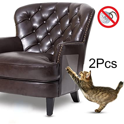 Outstanding In Hand Cat Scratch Furniture Clear Premium Flexible Vinyl Protector Dog Cat Claw Guards With Pins For Protecting Your Upholstered Furniture Stops Download Free Architecture Designs Scobabritishbridgeorg