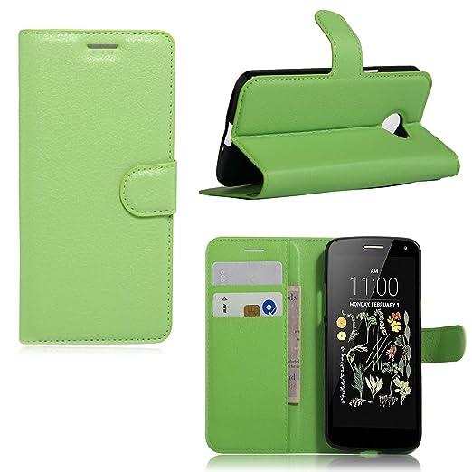 3 opinioni per Guran® Custodia in Pelle per LG K5 Smartphone di Funzione di in Piedi e Slot per