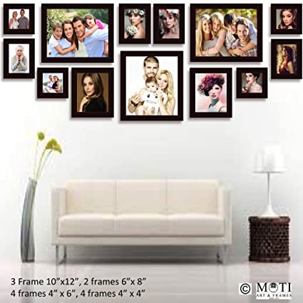 Buy 13 Pc Brown Photo Frame Wall Collage, 3Pc 10\