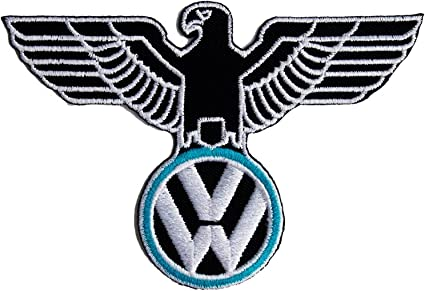 VW KDF Embroidered Patch