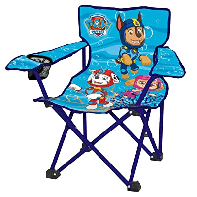 Danawares Paw Patrol Folding Camp Chair - Blue: Toys & Games