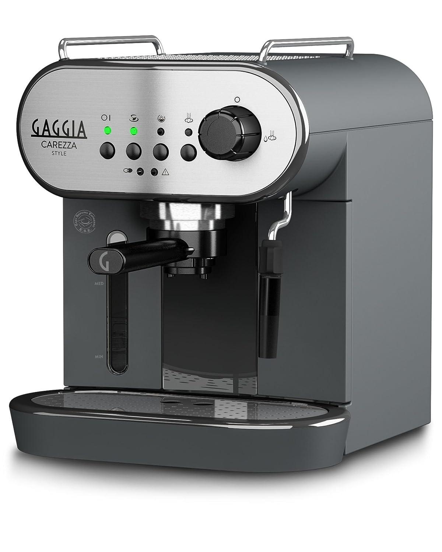 Gaggia máquina Café Carezza Style Capacidad 1.4L Potencia 1900 W: Amazon.es: Hogar