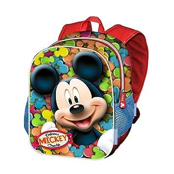 Karactermania Mickey Mouse Delicious Mochilas Infantiles, 39 cm, Rojo: Amazon.es: Equipaje