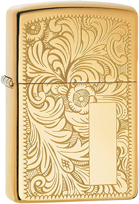 Zippo Venetian Mechero, High Polish Brass, 3.5x1x5.5 cm: Amazon.es: Deportes y aire libre