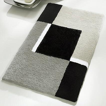 amazon com extra large oversized dakota bath rug design grey rh amazon com gray bedroom rugs grey bathroom rugs walmart